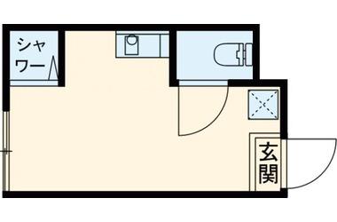 梅ヶ丘 徒歩7分1階1R 賃貸アパート