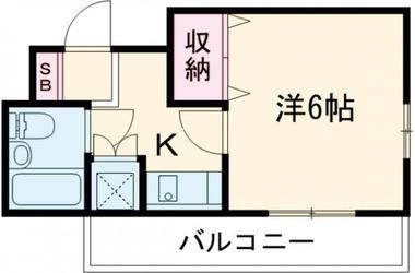 アルカディア下北沢3階1K 賃貸マンション